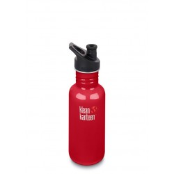Klean Kanteen Classic 532ml Bottle Mineral Red