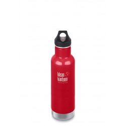 Klean Kanteen Classic Insulated 592ml Bottle Mineral Red